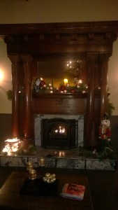 pic night fireplace